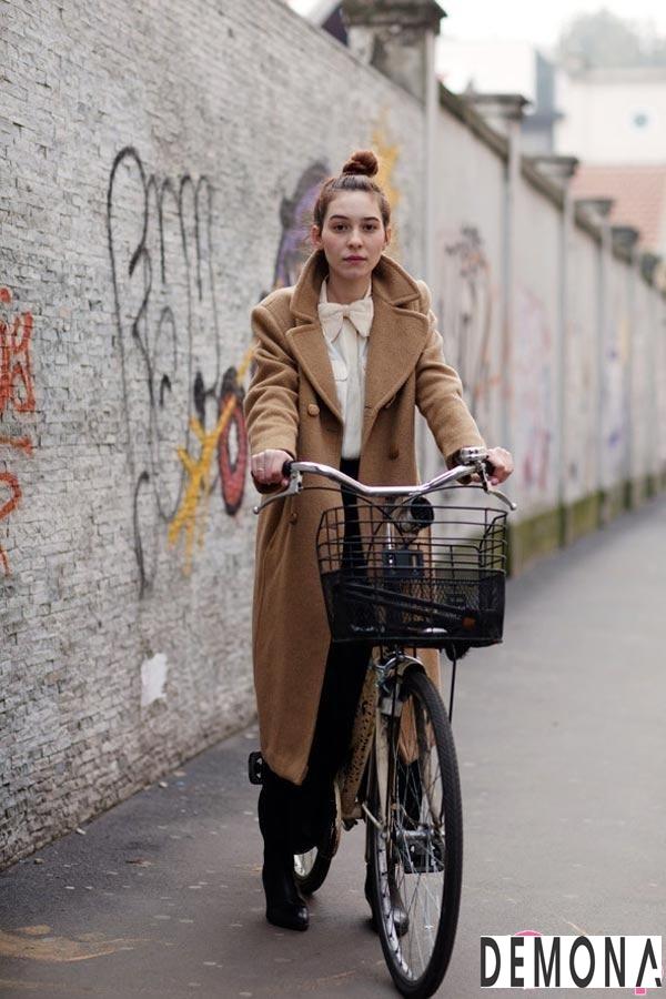 Áo khoác dạ lông nữ màu da đẹp cho cô nàng chân dài tinh tế thu đông 2021 – 2022phần 9