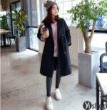 Áo khoác dạ nữ Hàn Quốc đẹp thu đông 2021 – 2022 được ưa chuông nhất hiện nay