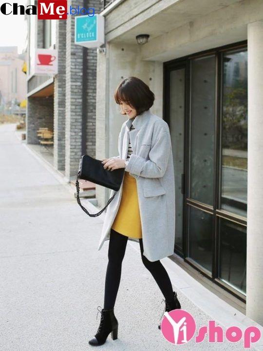 Áo khoác dạ nữ dáng dài đẹp đông 2021 - 2022 cho nàng ấm áp dạo phố