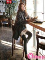 Áo khoác dạ nữ dáng dài đẹp đông 2021 – 2022 kiểu Hàn Quốc không lạnh