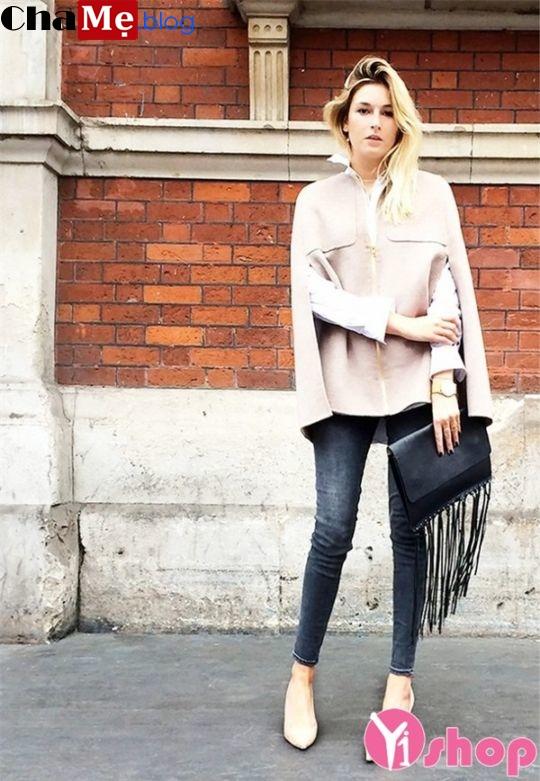 Áo khoác dạ nữ dáng dài đẹp đông 2021 - 2022 phong cách cổ điển