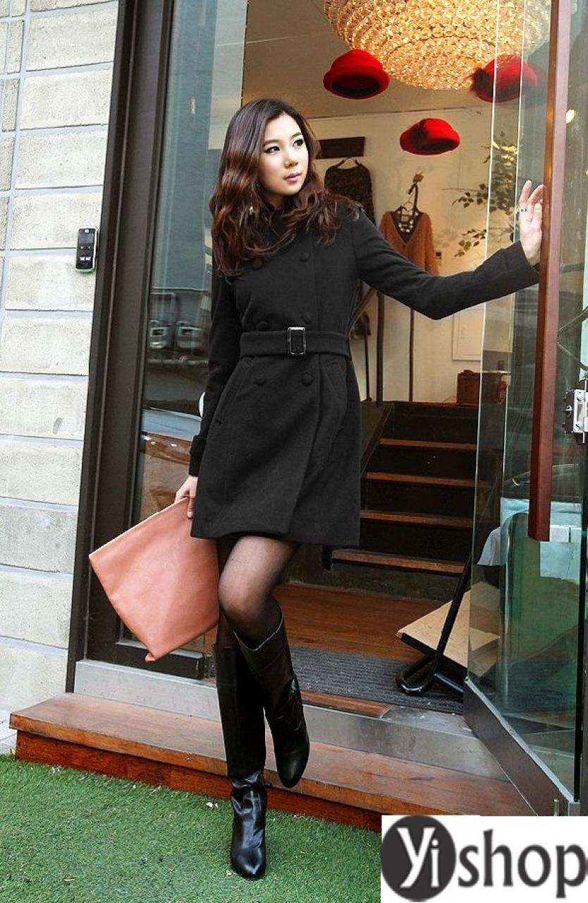 Áo khoác dạ nữ dáng dài đẹp được ưa chuộng nhất thu đông 2019 năm nay