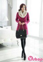 Áo khoác dạ nữ dạng vest đẹp thu đông 2021 – 2022 được ưa chuộng nhất
