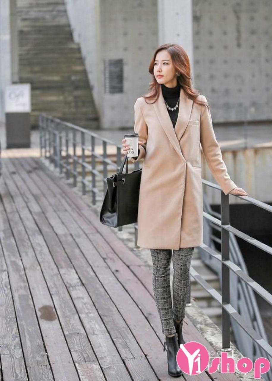 Áo khoác dạ nữ dạng vest đẹp thu đông 2019 được ưa chuộng nhất