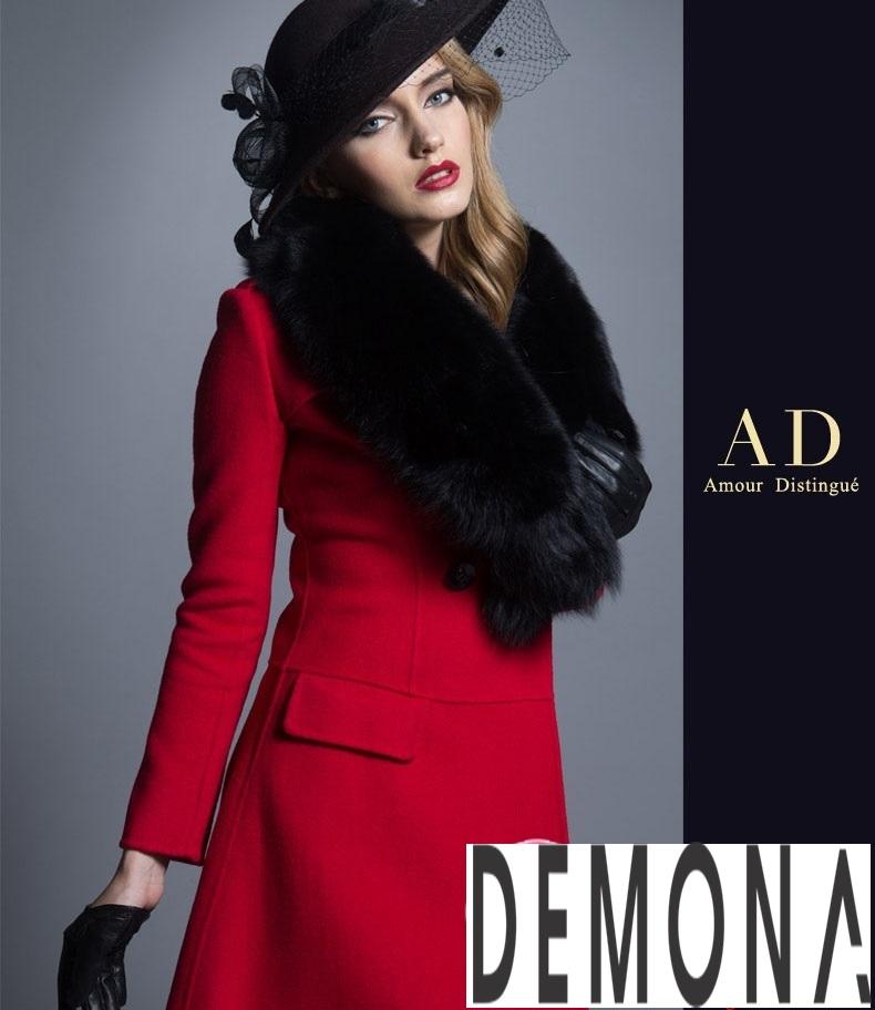 Áo khoác dạ nữ dáng xòe màu đỏ đẹp quyến rũ thu đông 2021 - 2022 phần 9