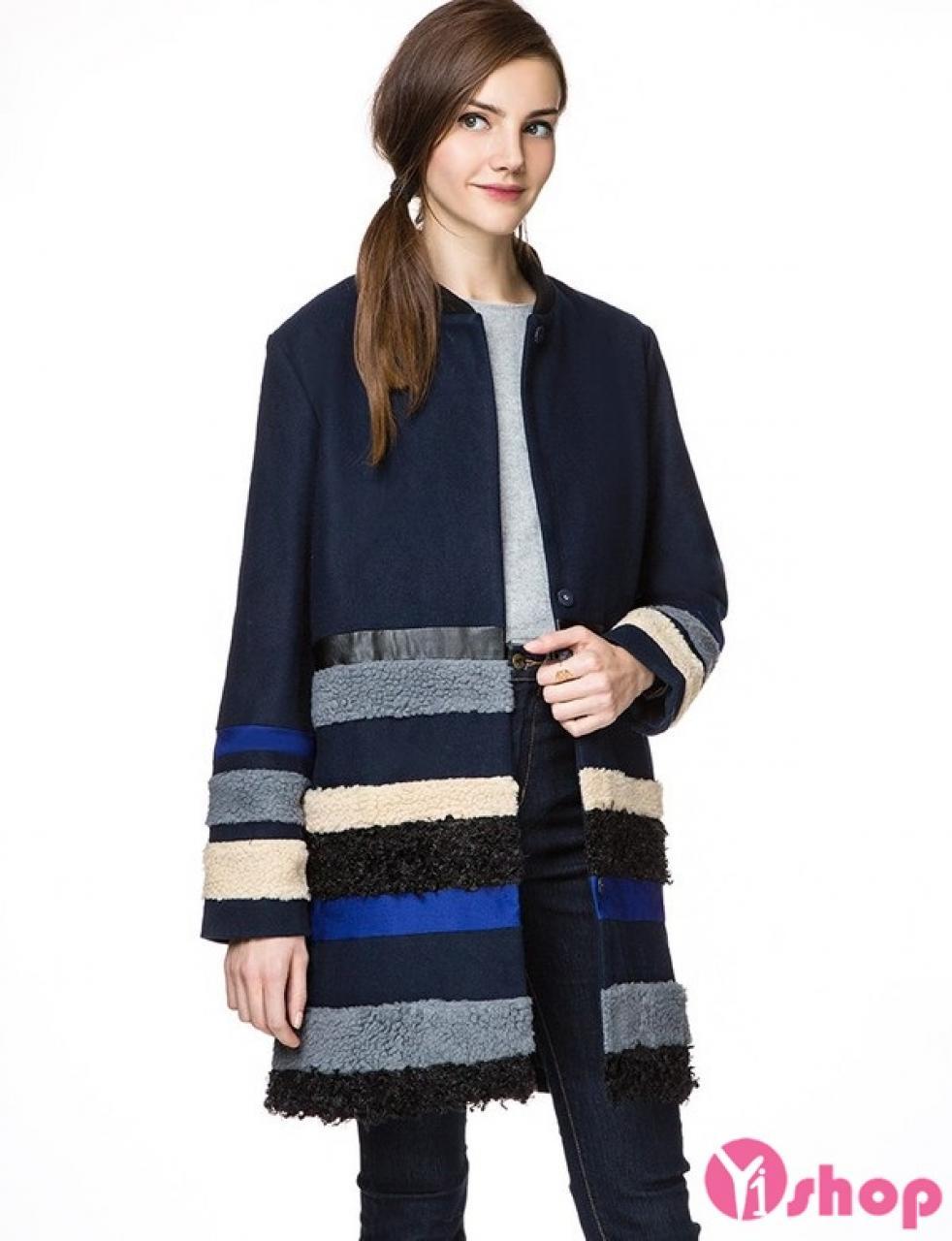 Áo khoác dạ nữ dày đẹp thu đông 2019 không lạnh dạo phố