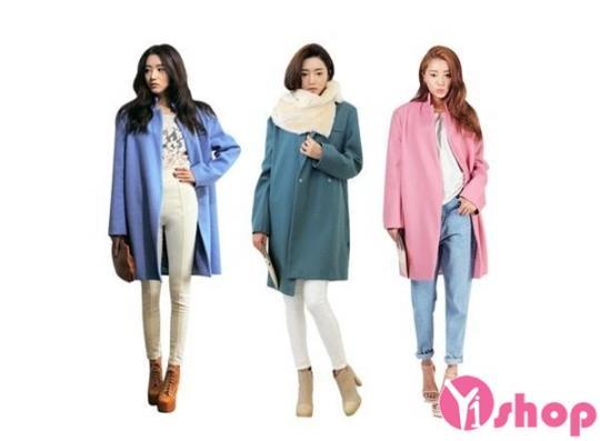 Áo khoác dạ nữ đẹp thu đông 2019 phù hợp với mọi vóc dáng