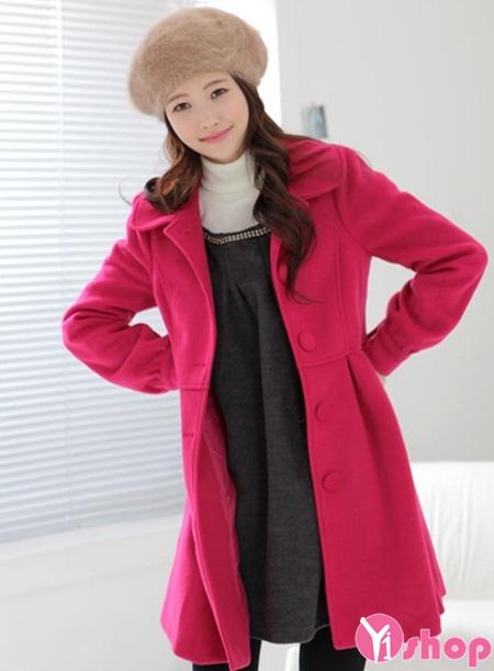 Áo khoác dạ nữ nỉ dày đẹp hoàn hảo chống rét buốt thu đông 2019