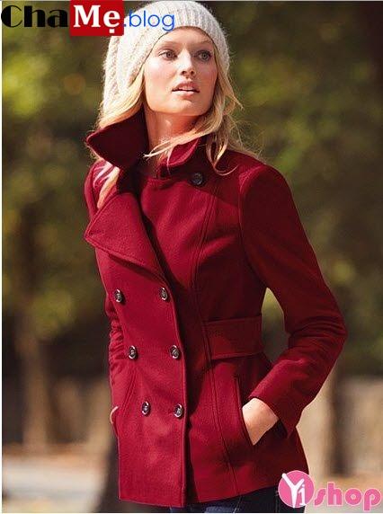 Áo khoác dạ nữ giả vest đẹp đông 2021 - 2022 thanh lịch không lạnh