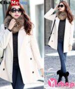 Áo khoác dạ nữ Hàn Quốc đẹp ấm áp đông 2021 – 2022 hợp mọi vóc dáng