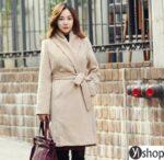 Áo khoác dạ nữ Hàn Quốc đẹp nhất thu đông 2021 – 2022 ấm áp tới công sở