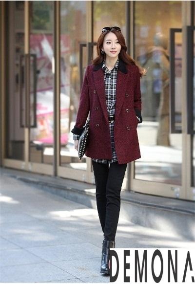 Áo khoác dạ nữ kiểu mới đẹp thu đông 2019 – 2021 cho nàng gầy cao phần 1