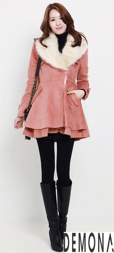 Áo khoác dạ nữ kiểu mới đẹp thu đông 2019 – 2021 cho nàng gầy cao phần 3