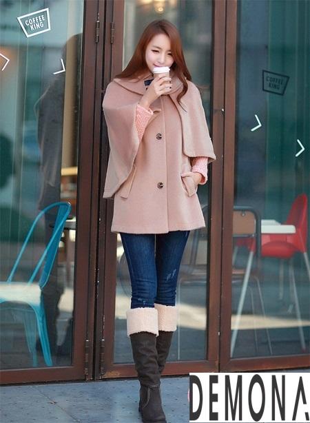 Áo khoác dạ nữ kiểu mới đẹp thu đông 2019 – 2021 cho nàng gầy cao phần 9