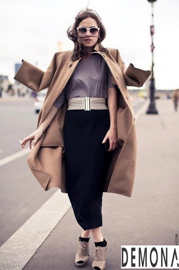 Áo khoác dạ nữ lông lạc đà đẹp xu hướng thời trang thu đông 2021 - 2022 phần 1