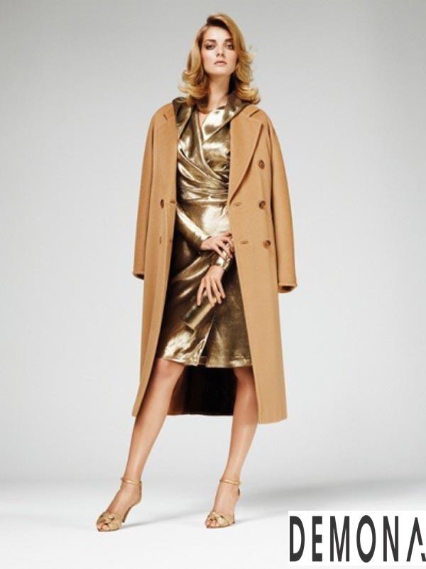 Áo khoác dạ nữ lông lạc đà đẹp xu hướng thời trang thu đông 2021 - 2022 phần 5