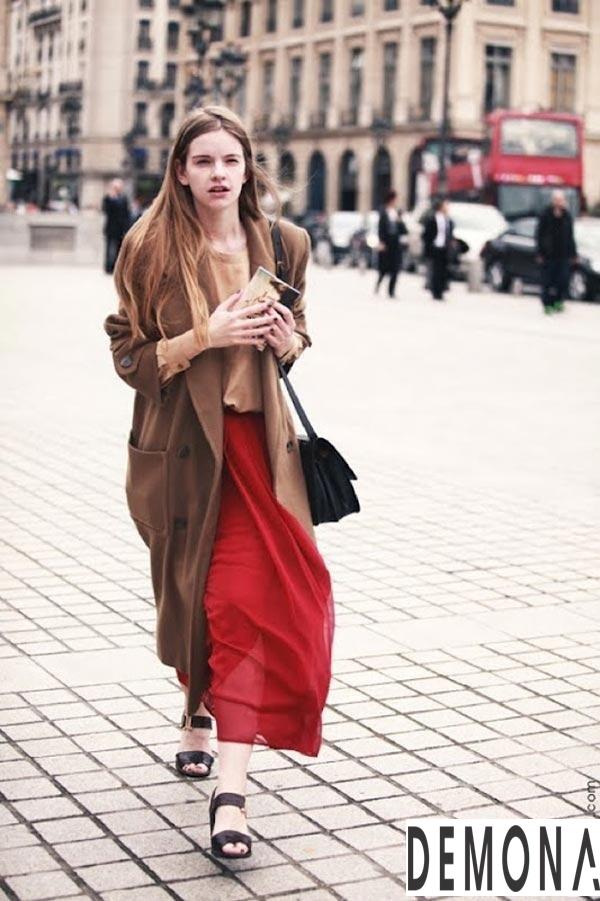 Áo khoác dạ nữ lông lạc đà đẹp xu hướng thời trang thu đông 2021 - 2022 phần 7