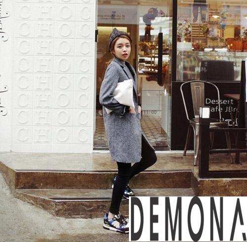 Áo khoác dạ nữ màu pastel đẹp đông 2019 – 2021 công sở trang nhã phần 1