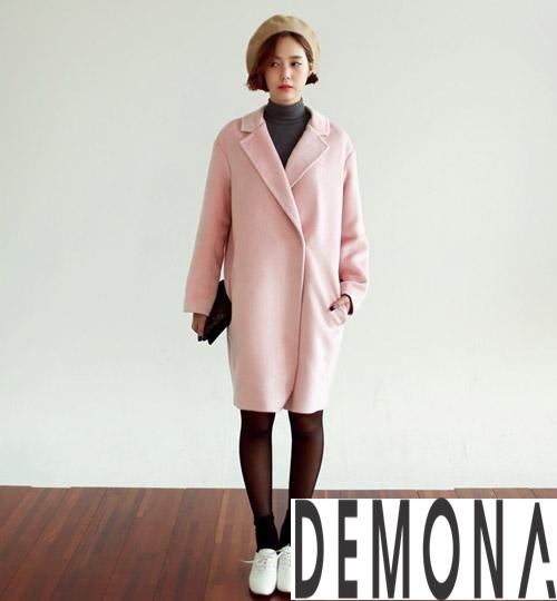 Áo khoác dạ nữ màu pastel đẹp đông 2019 – 2021 công sở trang nhã phần 4