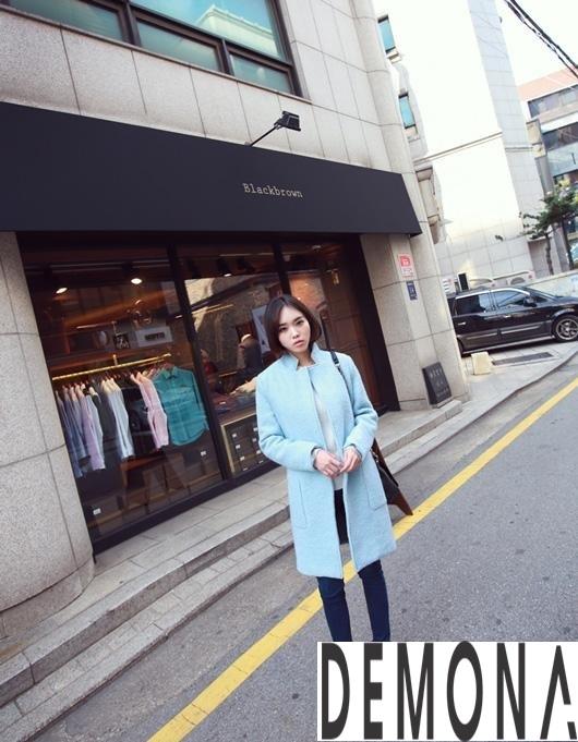 Áo khoác dạ nữ màu pastel đẹp đông 2019 – 2021 công sở trang nhã phần 6