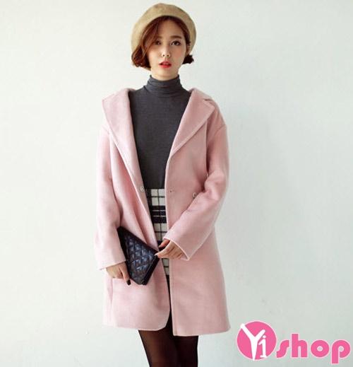 Áo khoác dạ nữ màu sắc đẹp cho nàng công sở xinh xắn nhất thu đông 2019