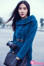 Áo khoác dạ nữ mỏng đẹp xu hướng thời trang thu đông 2021 – 2022