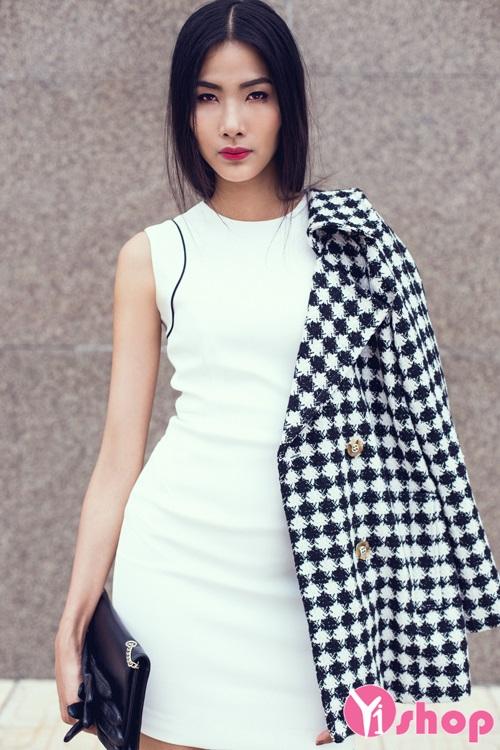 Áo khoác dạ nữ mỏng đẹp xu hướng thời trang thu đông 2019