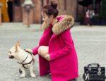 Áo khoác dạ nữ mũ lông thú đẹp thu đông 2021 – 2022 kiểu hàn quốc thời thượng