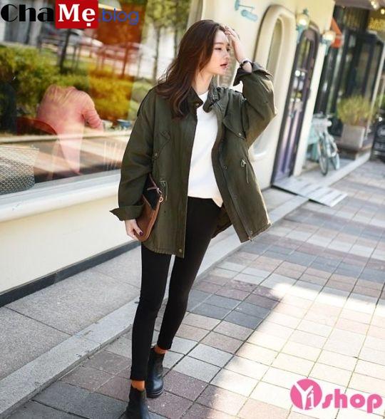 Áo khoác jacket nữ đẹp đông 2021 - 2022 xu hướng thời trang cá tính