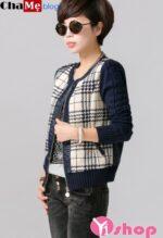 Áo khoác jacket nữ Hàn Quốc đẹp cho nàng sành điệu đông 2021 – 2022