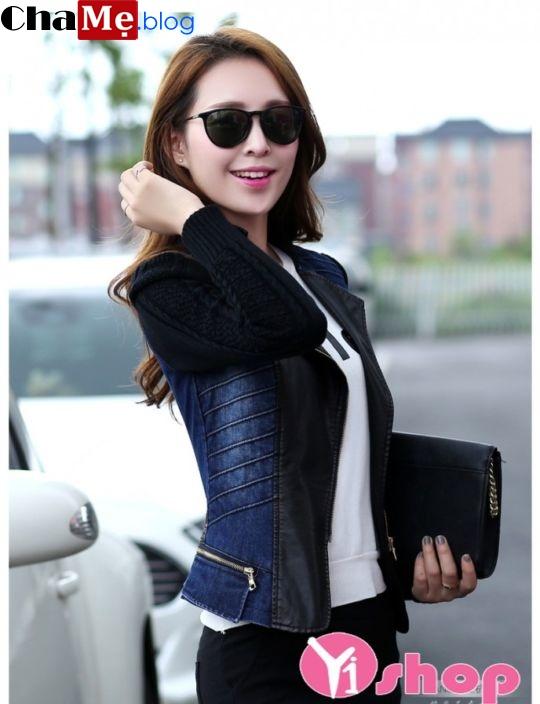 Áo khoác jacket nữ Hàn Quốc đẹp cho nàng sành điệu đông 2021 - 2022