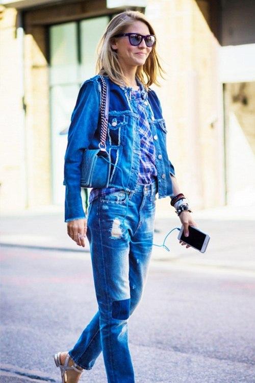 Áo khoác jean nữ đẹp thu đông 2021 - 2022 cho nàng cá tính dạo phố phần 1