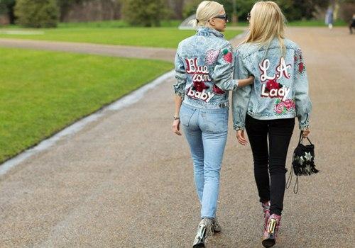Áo khoác jean nữ đẹp thu đông 2021 - 2022 cho nàng cá tính dạo phố phần 4