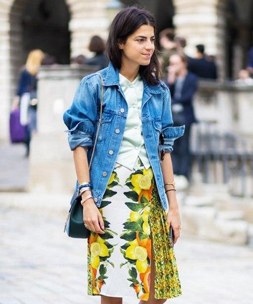 Áo khoác jean nữ đẹp thu đông 2021 - 2022 cho nàng cá tính dạo phố phần 7
