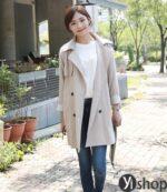 Áo khoác kaki nữ đẹp item gây sốt nhất mùa thời trang đông 2021 – 2022