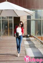 Áo khoác len nữ dáng dài đẹp sành điệu cho nàng thướt tha thu đông 2021 – 2022