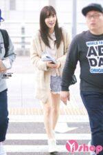 Áo khoác len nữ dáng dài đẹp thu đông 2021 – 2022 kiểu Hàn Quốc trẻ trung