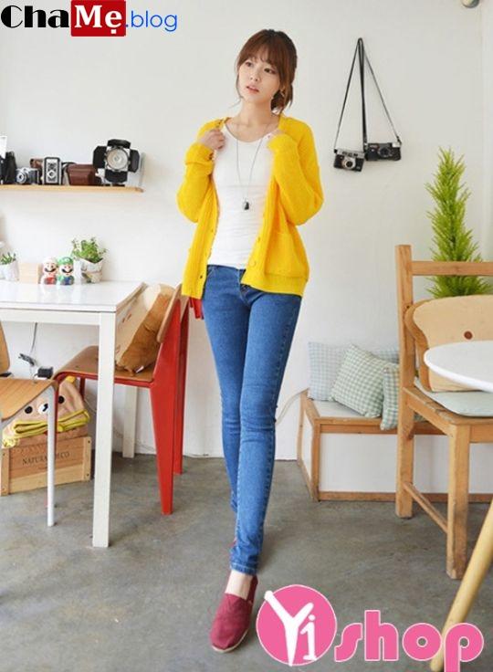 Áo khoác len nữ đẹp cho nàng xinh xắn ấm áp đông 2021 - 2022