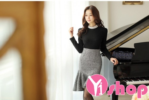 Áo khoác len nữ đẹp mix theo phong cách thu đông 2019 cho nàng trẻ trung