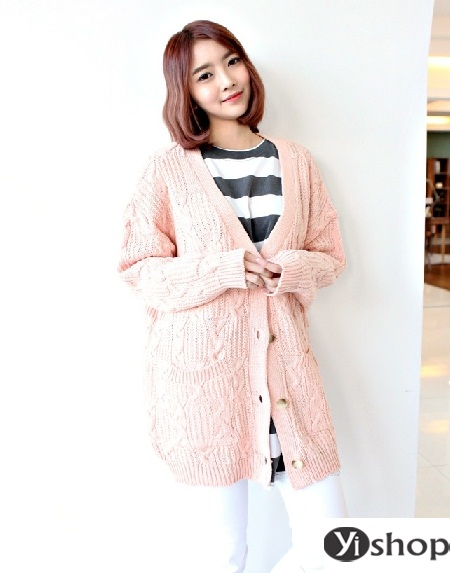 Áo khoác len nữ đẹp - trang phục đặc trưng không thể thiếu ngày đông 2021 - 2022 phần 12