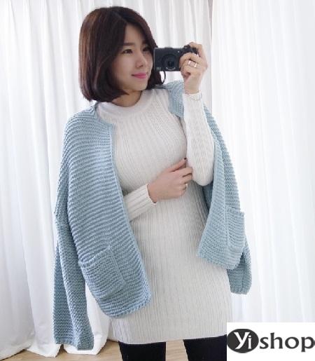 Áo khoác len nữ đẹp - trang phục đặc trưng không thể thiếu ngày đông 2021 - 2022 phần 2