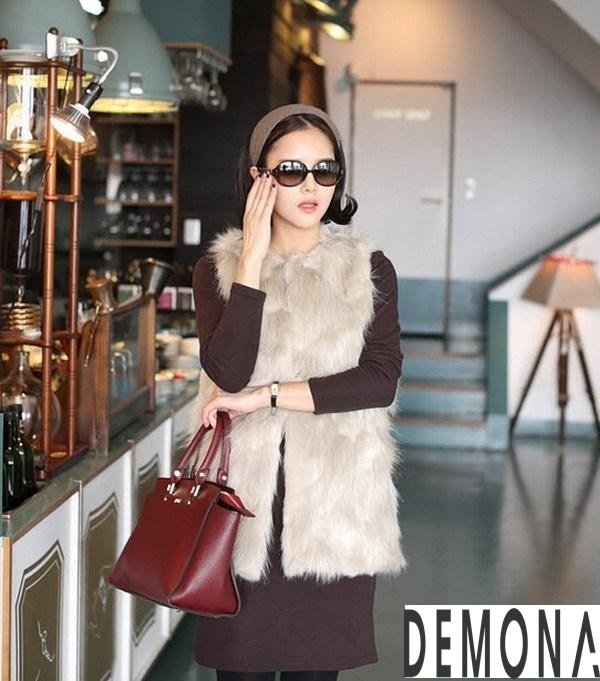 Áo khoác lông công sở nữ đẹp thu đông 2021 – 2022 thanh lịch ấm ápphần 9