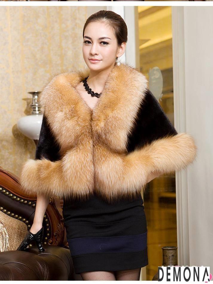 Áo khoác lông dạ hội nữ đẹp thu đông 2019 – 2021 sang trọng quý phái phần 1