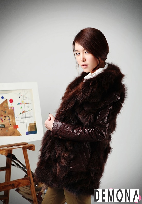 Áo khoác lông dạ hội nữ đẹp thu đông 2019 – 2021 sang trọng quý phái phần 13