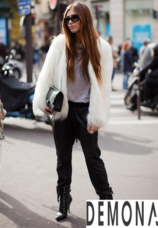 Áo khoác lông form dài nữ đẹp thời trang công sở thu đông 2021 – 2022 phần 10