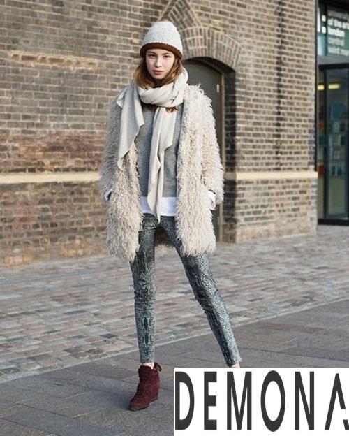 Áo khoác lông form dài nữ đẹp thời trang công sở thu đông 2021 – 2022 phần 11
