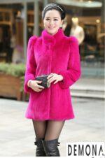 Áo khoác lông nữ công sở đẹp thu đông 2021 – 2022 ấm áp không lạnh