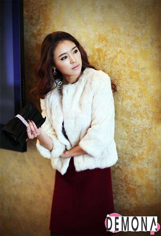 Áo khoác lông nữ dáng ngắn đẹp kiểu hàn quốc ấm áp dạo phố đông 2019 – 2021 phần 1