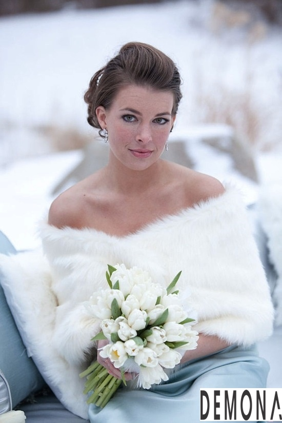 Áo khoác lông nữ đẹp cho cô dâu quyến rũ ấm áp thu đông 2019 – 2021 phần 1