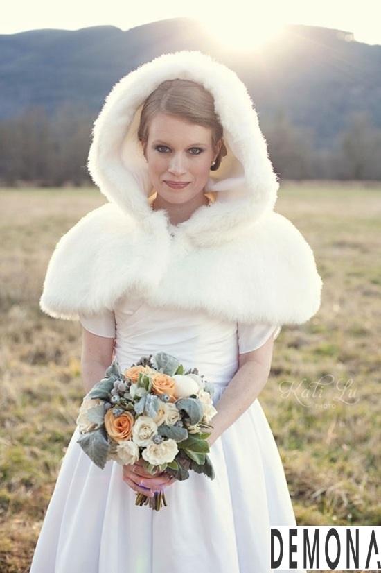 Áo khoác lông nữ đẹp cho cô dâu quyến rũ ấm áp thu đông 2019 – 2021 phần 3